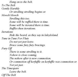 The Belt of Sympathies